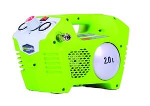 Greenworks Kompressor 2l, 40 Volt ´´ohne Akku und Ladegerät, 8 bar, 40 l/min, ölfrei´´