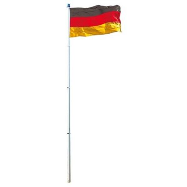Deutschlandfahne mit Alumast 4 Meter