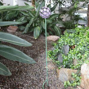 Gartenstecker Hortensie Lila 100cm