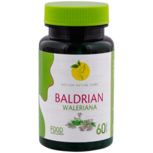 Mother Nature Herbs Baldrian