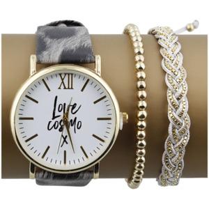 Cosmopolitan Armbanduhr Geschenkset