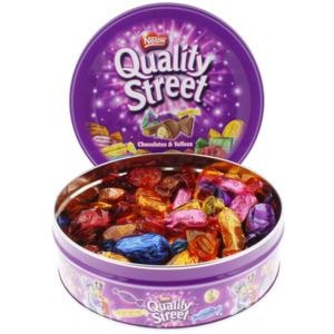 Nestle Quality Street Schokolade und Toffee
