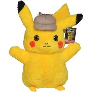Pokémon - Meisterdetektiv Pikachu Plüschfigur, Pikachu