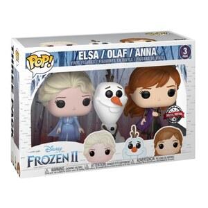 Frozen 2 - POP! Vinylfigur 3er Pack, Anna, Elsa und Olaf