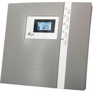 Karibu Saunaofen 9 kW Bio Edelstahl Set mit Strg. Bio Premium, inkl. Steine