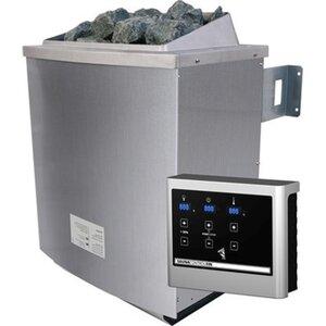 Karibu Saunaofen 9 kW Edelstahl inkl. Steuerungsgerät Easy