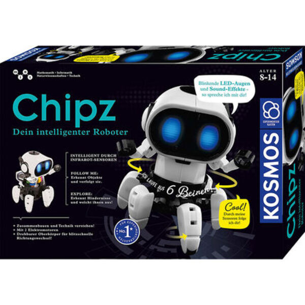 Kosmos Chipz – Dein intelligenter Roboter