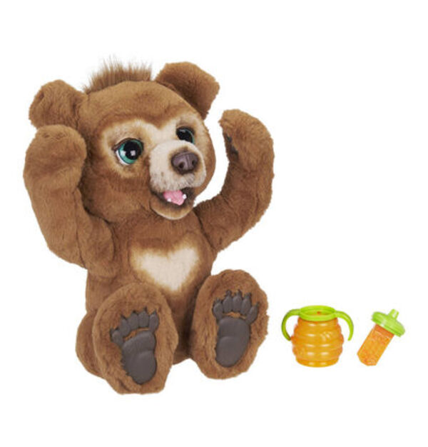 Hasbro FurReal Friends Cubby, mein Knuddelbär interaktives Plüschspielzeug