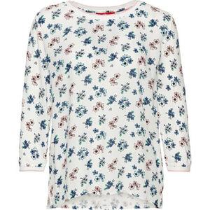 s.Oliver Shirt mit High Low-Saum, 3/4 Arm, für Damen