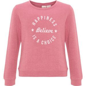 manguun teens Sweatshirt mit Glitzerprint, für Mädchen