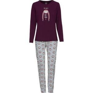 manguun Pyjama mit Print, für Damen
