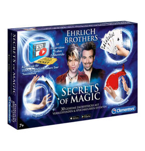 "Clementoni Zauberkasten Ehrlich Brothers ""Secrets of Magic"""