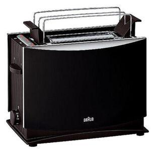Braun Toaster MultiToast HT 450, schwarz, schwarz