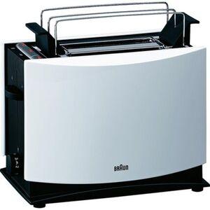 Braun Toaster MultiToast HT 450, weiß, weiß