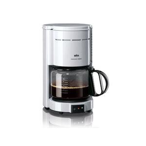 """Braun Kaffeemaschine """"Aromaster Classic KF 47"""", weiß, weiß"""