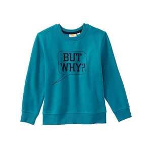 Jungen-Sweatshirt mit Sprechblase