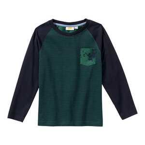Jungen-Shirt mit moderner Brusttasche