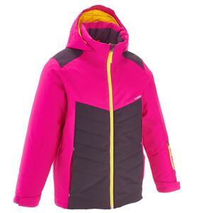 Skijacke Piste 300 Kinder rosa