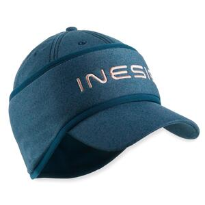 Golf Cap mit Stirnband warm Damen dunkelgrün