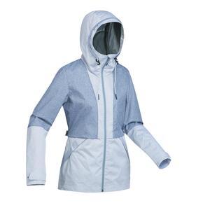 Jacke Travel 100 Compact Damen blau