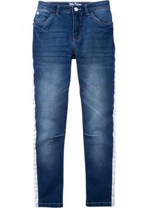 Stretch Jeans mit seitlichen Streifen
