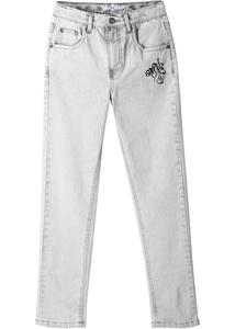 Jeans in Used Optik, Slim Fit