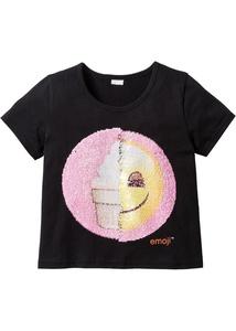 EMOJIS Shirt mit Wendepailletten