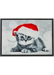 Fußmatte mit Weihnachtsmotiv