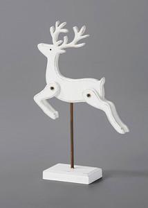 Deko-Figur Hirsch auf Ständer