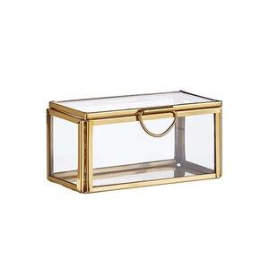 SHOWROOM Glasbox mit Deckel 10cm