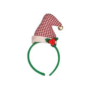 X-MAS Haaraccessoire Weihnachtsmütze rot-weiß