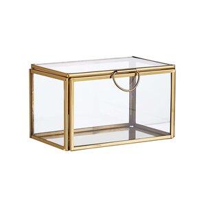 SHOWROOM Glasbox mit Deckel 13cm