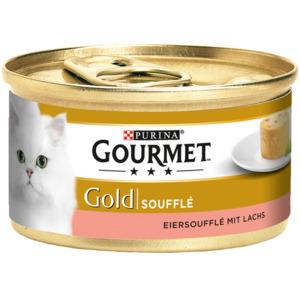 12 x 85g Gourmet Gold Soufflé Lachs (Multipack)