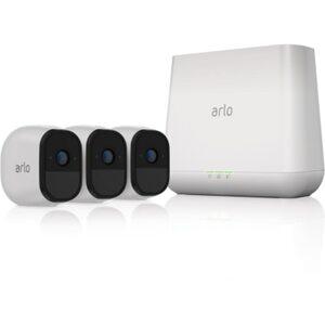 Arlo Pro VMS4330 Sicherheitssystem 3x HD Kamera & Basisstation Sirene