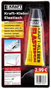 Kraft Werkzeuge Kraftkleber elastisch 40g