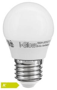 I Glow LED-Leuchtmittel 470 Lumen - Globe E27 5er-Set