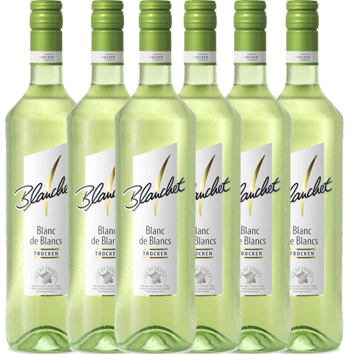 Bild 1 von Blanchet Weißwein Blanc de Blancs Trocken - 6er Karton