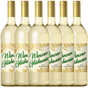 Gerstacker Meistersinger Winzer Glühwein weiß 0,745l - 6er Karton