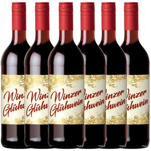 Gerstacker Meistersinger Winzer Glühwein rot 0,745l - 6er Karton