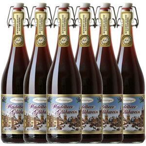 Gerstacker Meistersinger Heidelbeer-Glühwein - 6er Karton
