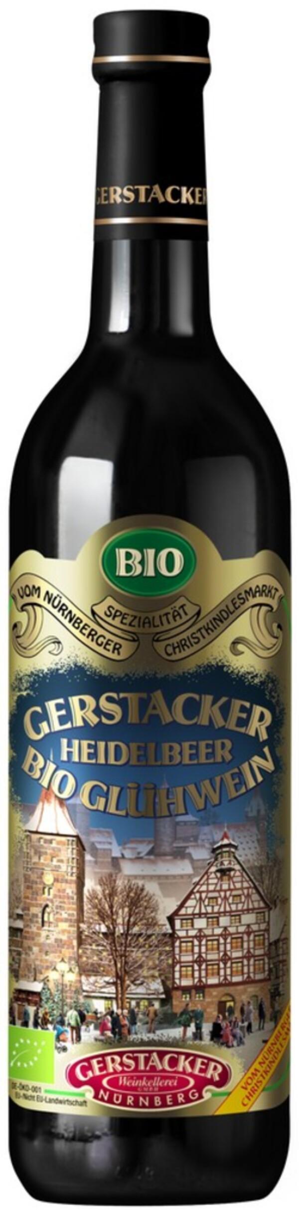 Gerstacker BIO Heidelbeer-Glühwein 0,745l