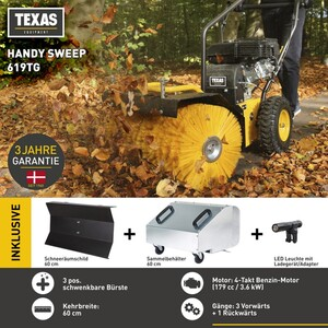 TEXAS Handy Sweep 619TG
