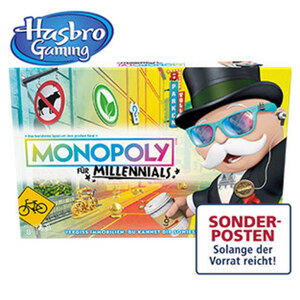 Monopoly für Millennials ab 8 Jahren
