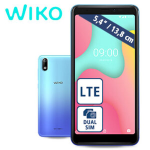 Smartphone Y60 · 2 Kameras (je 5 MP) · 1-GB-RAM, bis zu 16-GB-interner-Speicher · microSD™-Slot bis zu 128 GB · 1 x microSIM und 1 x nanoSIM · Android™ 9.0 (Go Edition)