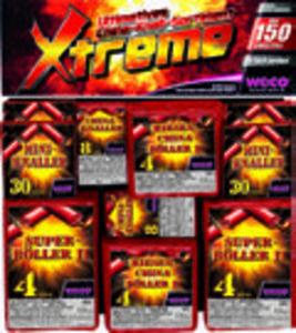 Weco China-Knall-Sortiment »Xtreme«