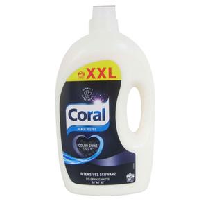 """Coral Flüssigwaschmittel """"Black Velvet"""" 3 Liter"""