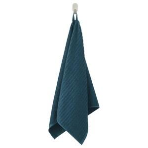 VÅGSJÖN                                Handtuch, dunkelblau, 50x100 cm