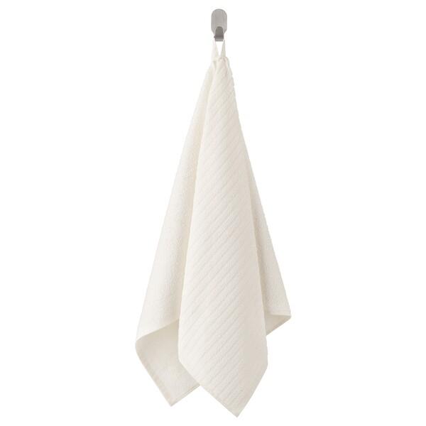 VÅGSJÖN                                Handtuch, weiß, 50x100 cm