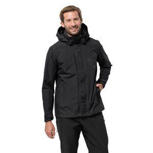 Jack Wolfskin Hardshell-Jacke Männer Highland Jacket Men XL schwarz