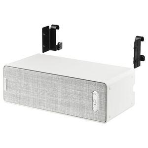 SYMFONISK / SYMFONISK                                Regal-Speaker mit Haken, weiß, 31x10x15 cm